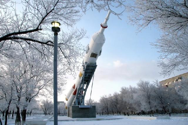Картинки зима на байконуре