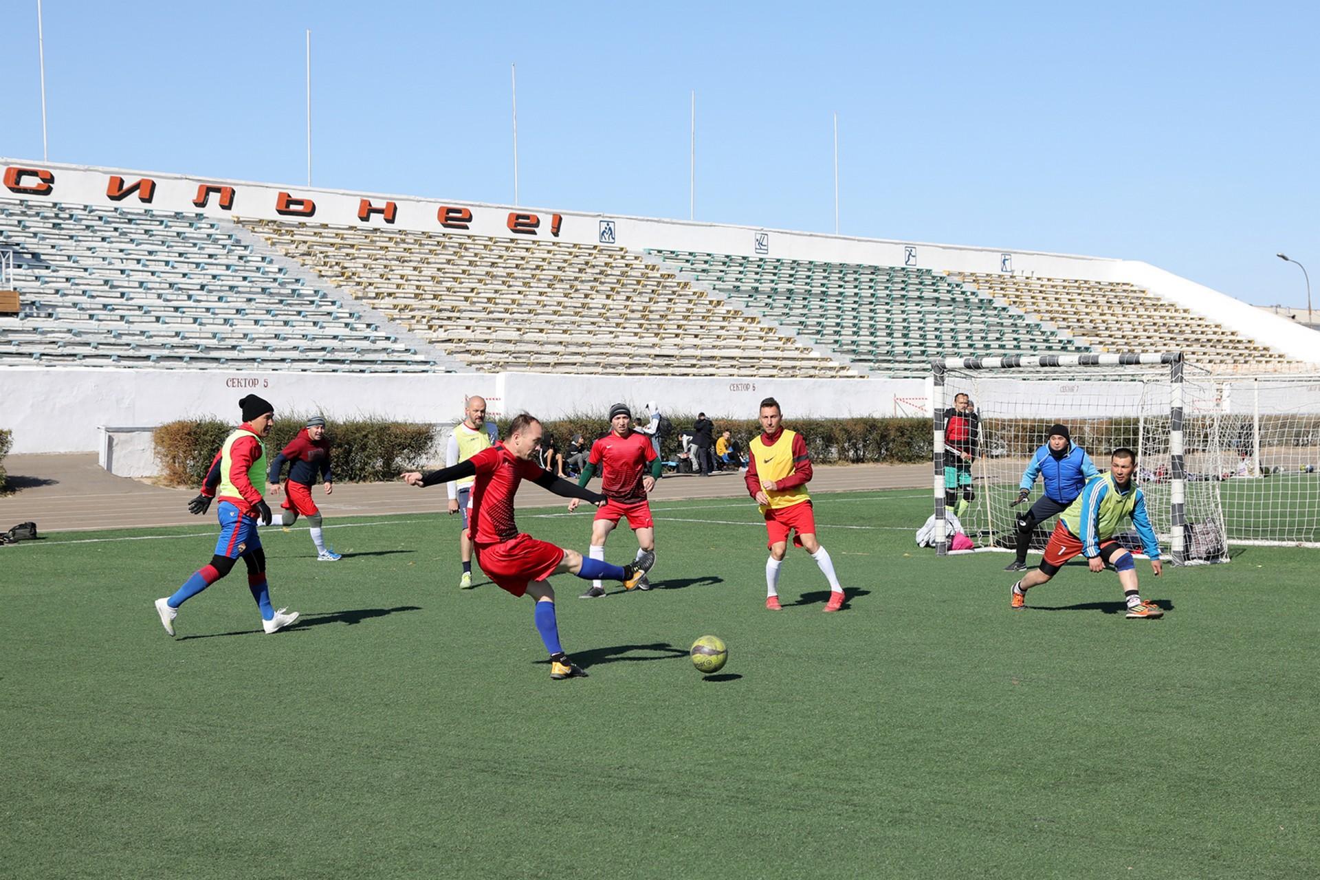 В Байконуре стартовал Чемпионат города по мини-футболу