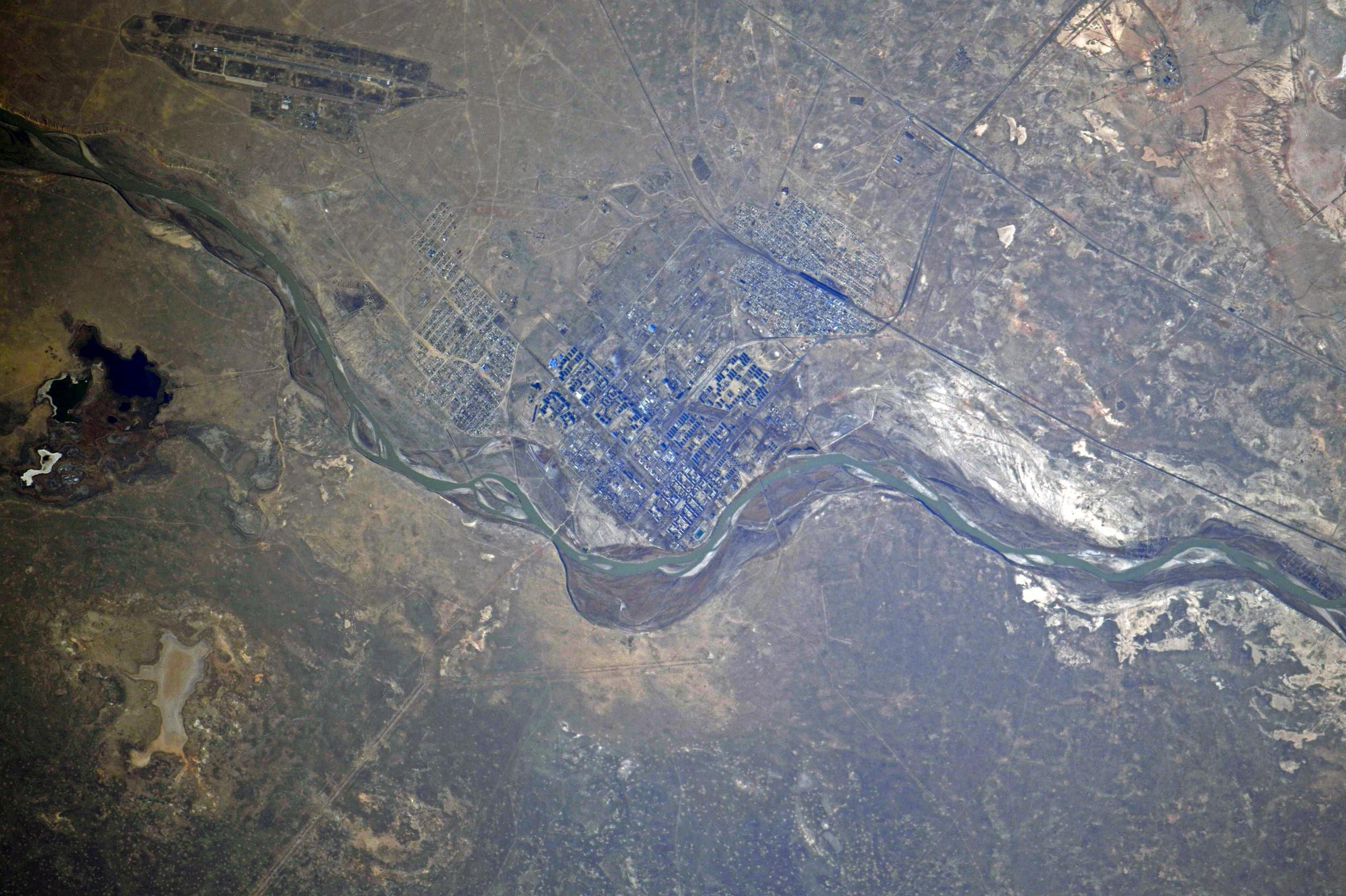 Космический привет от космонавта Сергея Кудь-Сверчкова