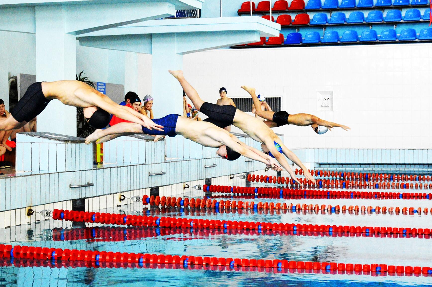 Определены лучшие пловцы в рамках городского первенства