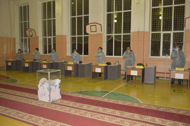 Жители Байконура-граждане Республики Казахстан приняли активное участие в парламентских выборах и выборах районного маслихата