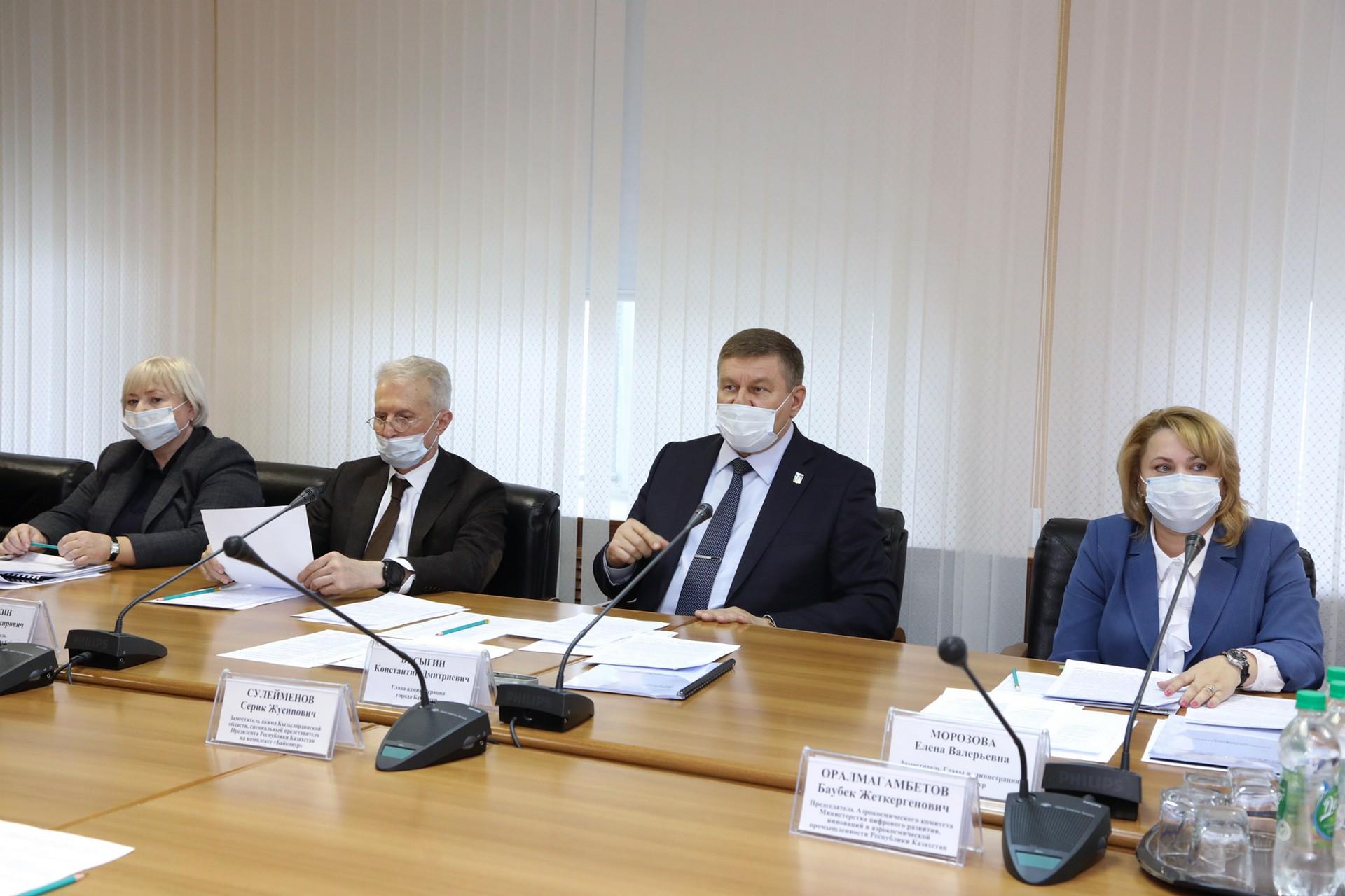 Состоялась рабочая встреча по реализации Долгосрочной программы развития города Байконура.