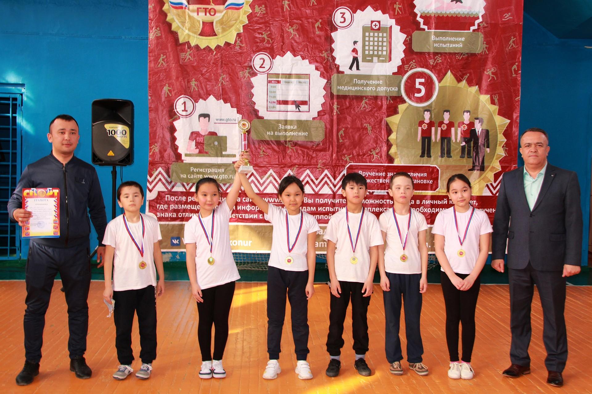 Школьники продемонстрировали спортивную подготовку в городском первенстве по эстафете ГТО