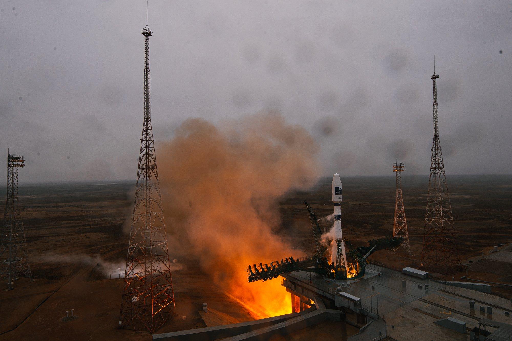 Ракета-носитель «Союз-2.1а» штатно стартовала с Байконура