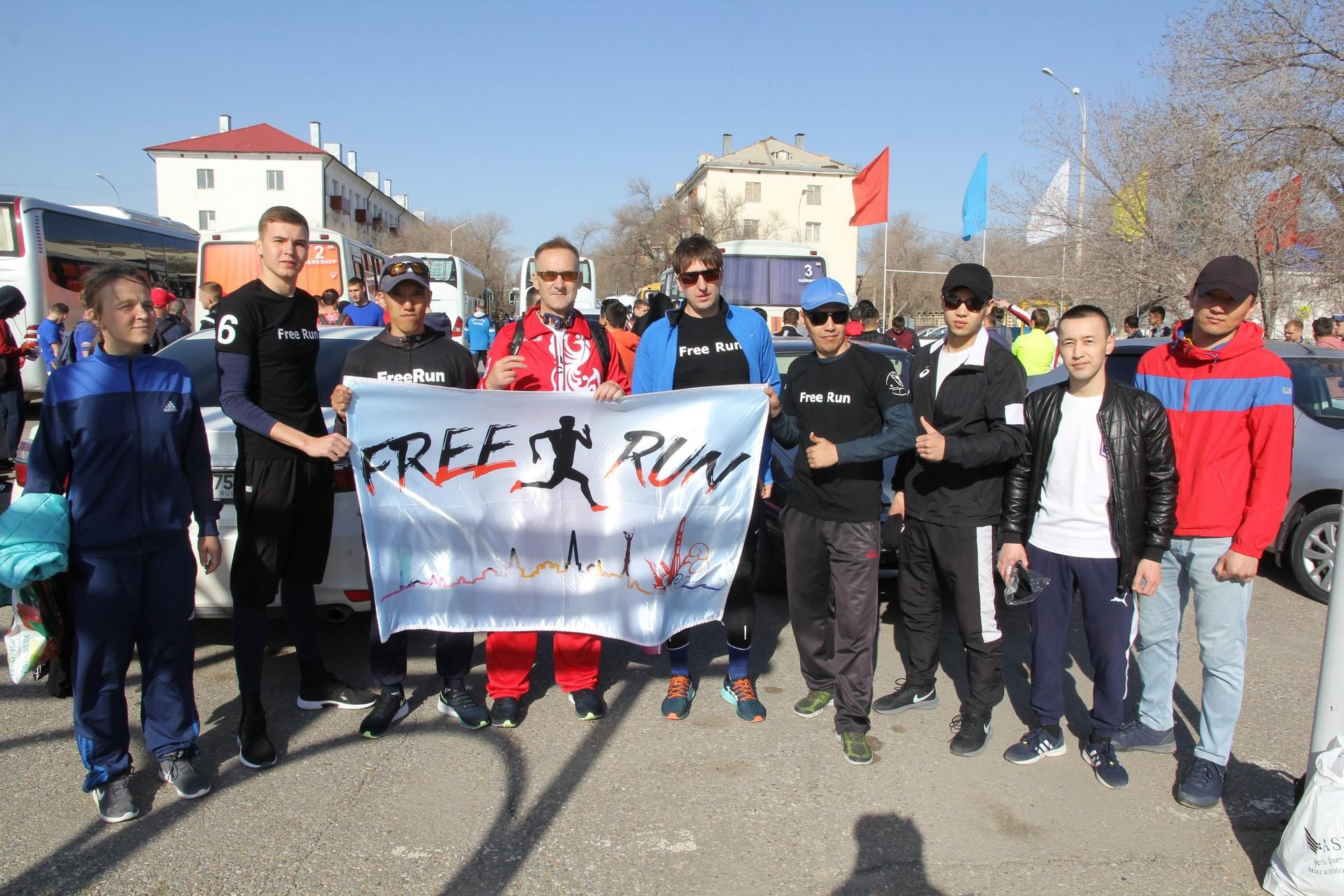 В Байконуре состоялся «Гагаринский марафон», посвященный 60-летию полёта в космос Юрия Гагарина