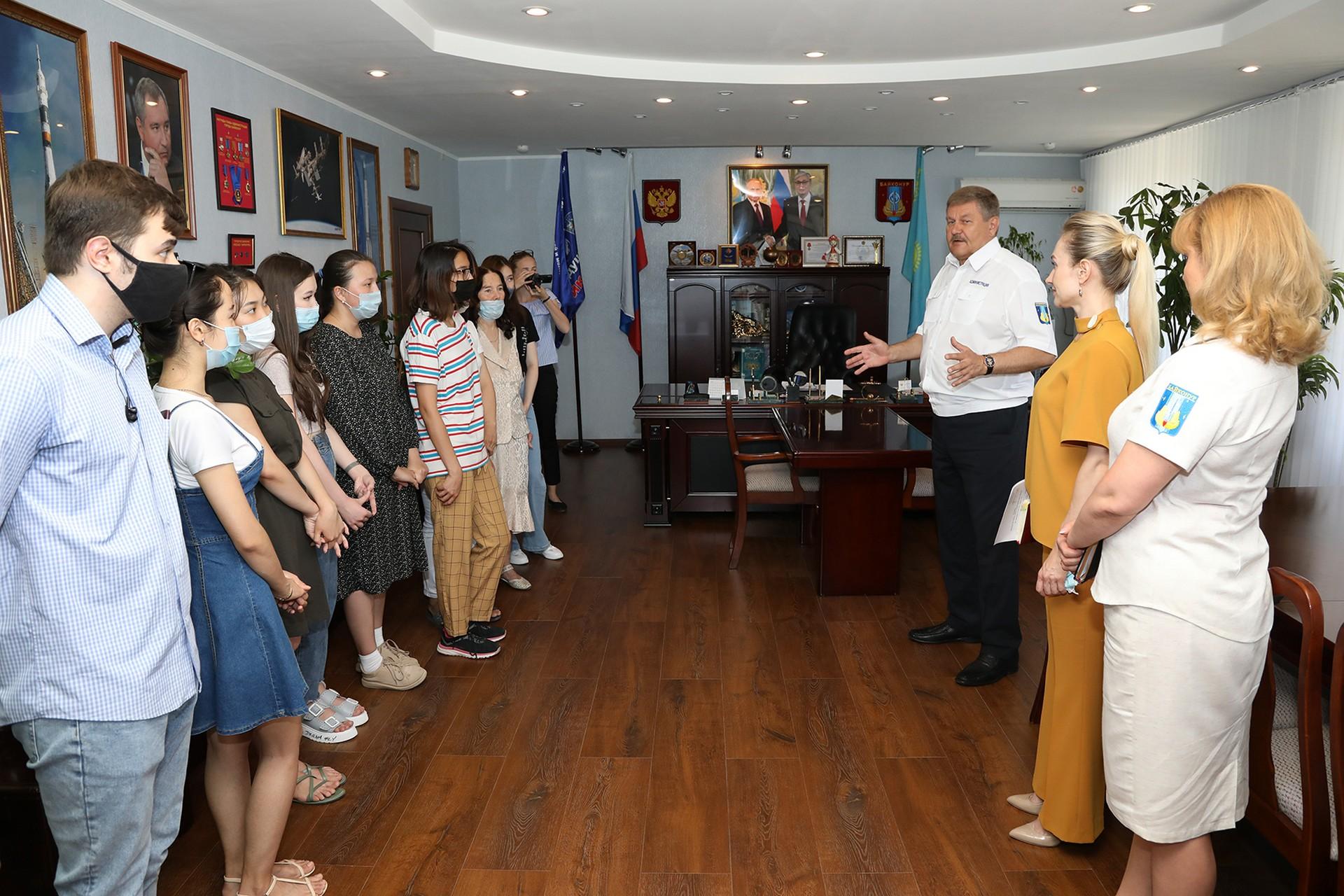 В городской администрации прошел День открытых дверей для студентов филиала «Восход» МАИ