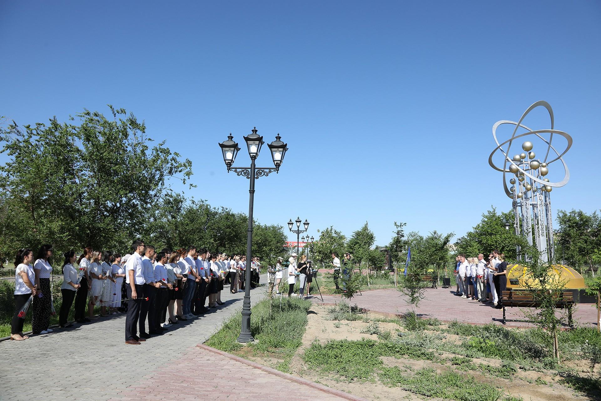 В городе проходят праздничные мероприятия в честь 66-летия со дня рождения Байконура