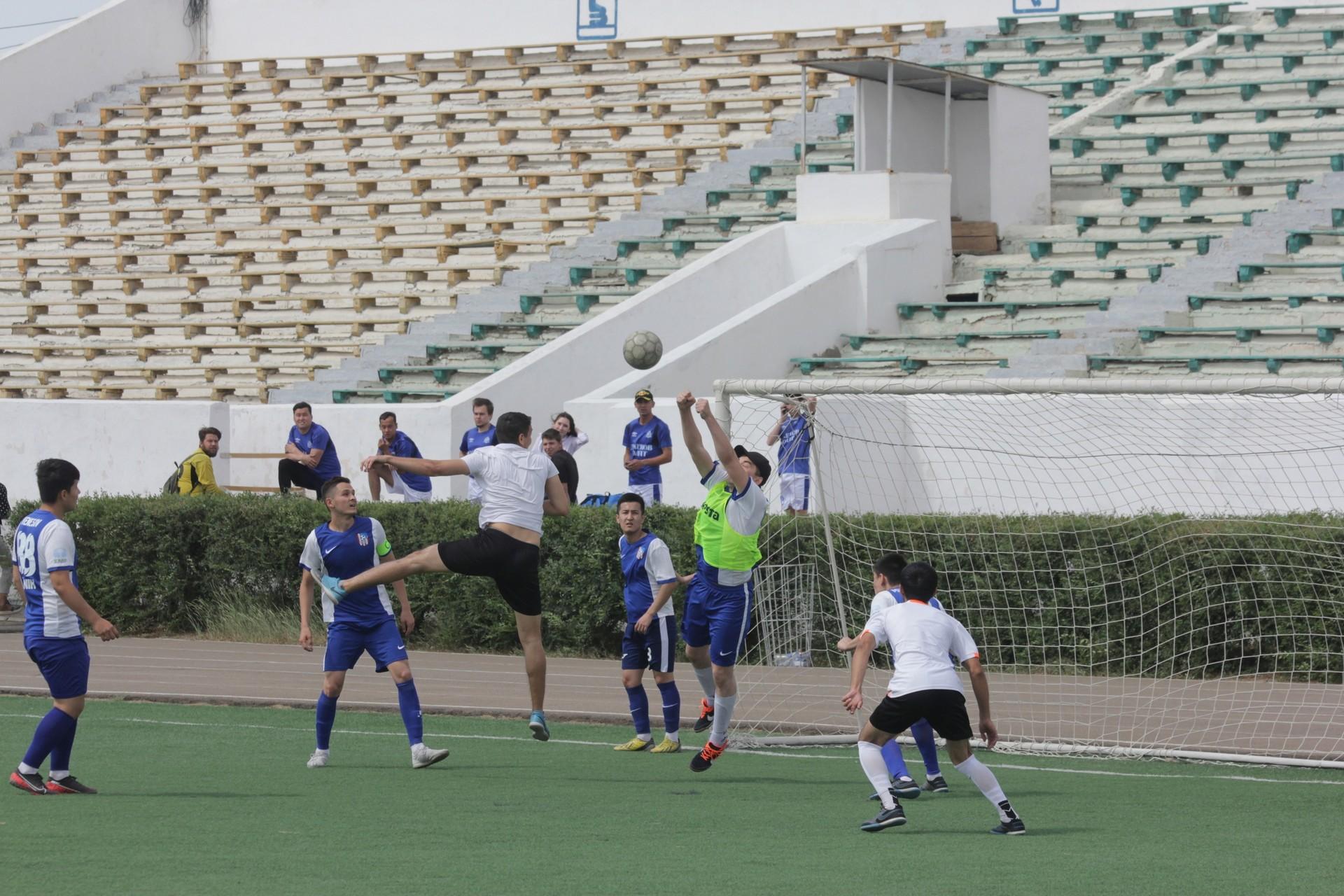 В Байконуре прошли спортивные соревнования, приуроченные ко Дню города