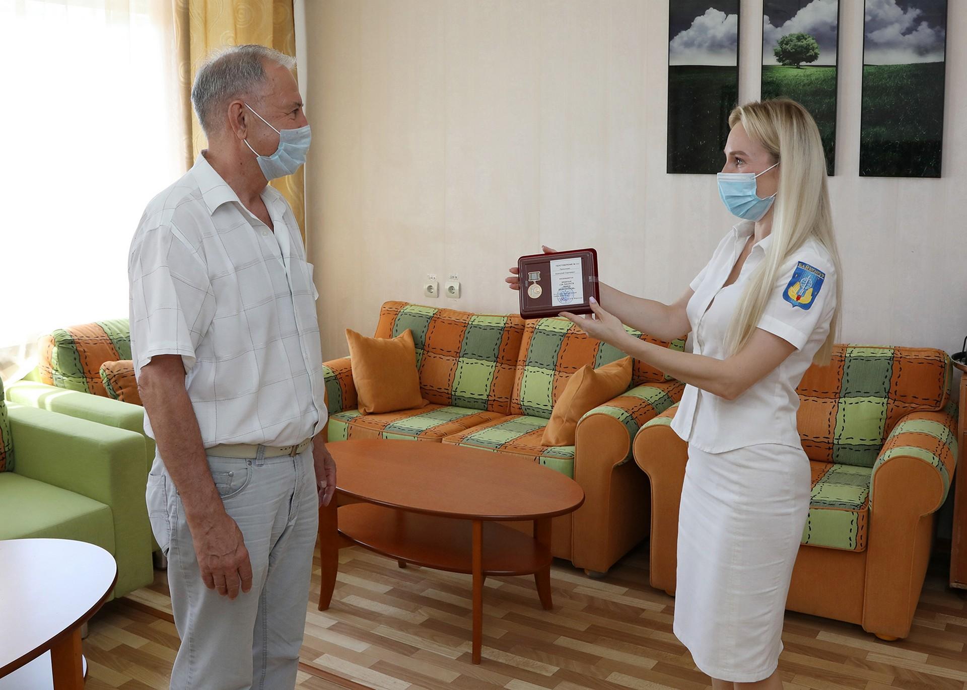 Анатолий Просочкин награжден медалью «За заслуги перед Байконуром»