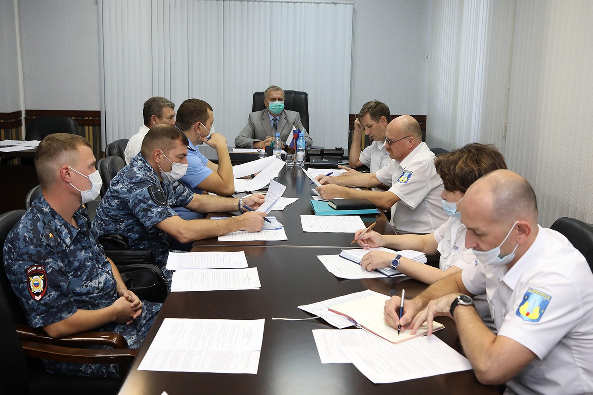 В администрации города состоялось заседание антинаркотической комиссии в городе Байконуре.