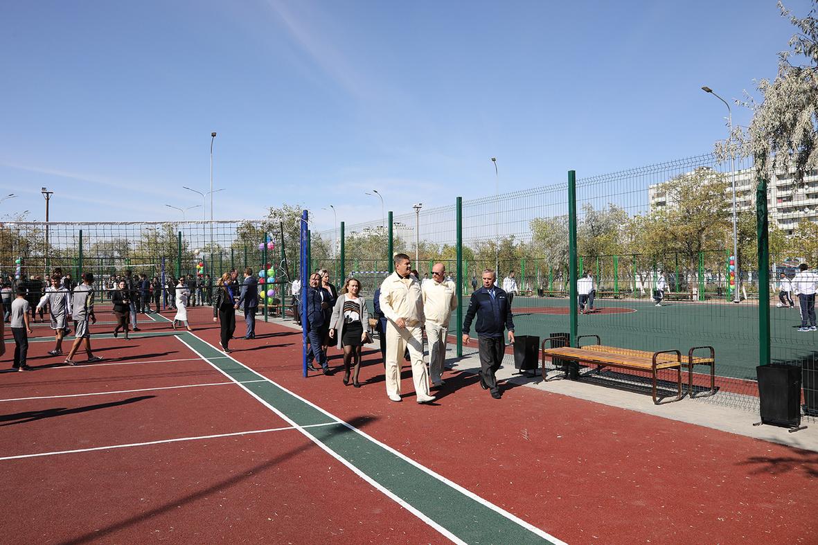 24 сентября состоялось торжественное открытие спортивных площадок молодёжно-спортивного комплекса «Протон».