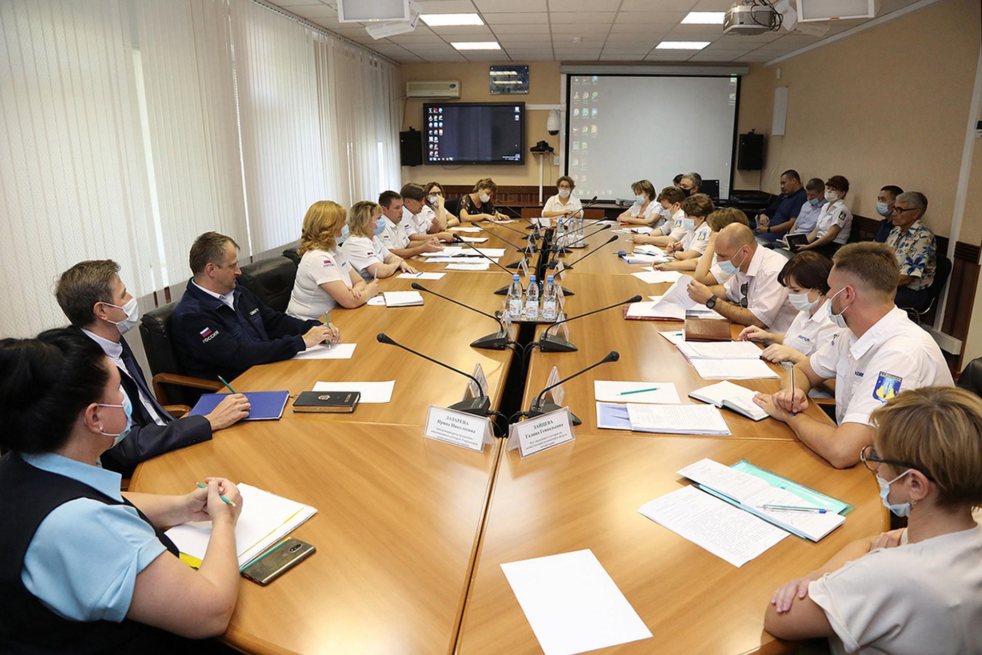 Состоялось заседание Комиссии по организации электронного взаимодействия при предоставлении государственных услуг