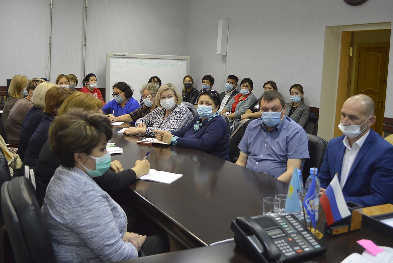 Состоялось рабочее совещание Управления по размещению заказа администрации города Байконура с руководителями дошкольных образовательных учреждений